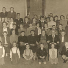 1955 Church Social in the Old National School