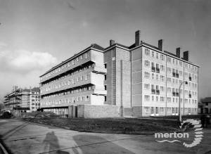 Pollards Hill Estate:  Construction of Westmoorland Square