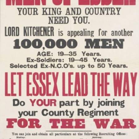 Recruitment Poster for the County of Essex