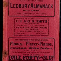 Tilley's Ledbury Almanack 1934