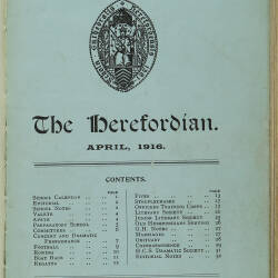 The Herefordian No 81_April 1916