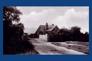 Bridge and cottage near Beverley Brook, Wimbledon
