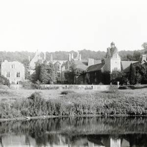 Cheyney Court, Bishops Frome, Herefordshire 1895