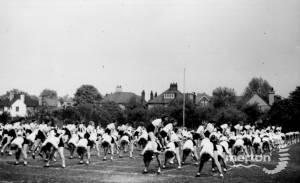 Wimbledon County School for Girls: Outdoor Exercises