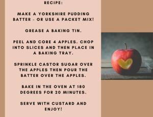 Apple Batter Pudding Recipe