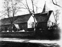 St Mary's Church,  looking south, Merton Park
