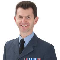 2014: Group Captain Mark Hunt