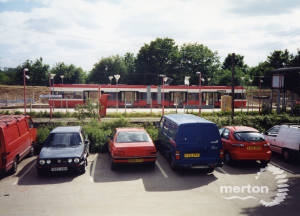 Croydon Tramlink - Construction - Mitcham Junction