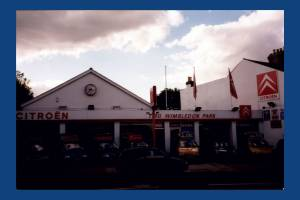 Citroen dealership, Durnsford Road, Wimbledon Park