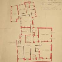 Entresol floor, plan