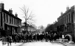Deburgh Road: Children in the street
