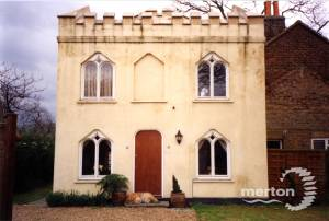 Gothic Lodge, near Phipps Bridge Estate,