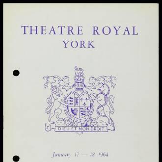 Theatre Royal, York, January 1964 - P03