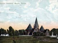 Battersea Cemetery, Lower Morden Lane, Morden.