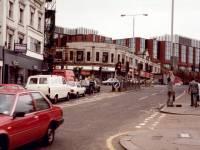 Broadway, Wimbledon: junction with Hartfield Crescent
