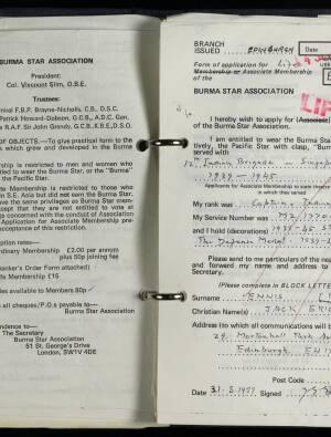 Ennis, Major Jack Eric - E/1045/89