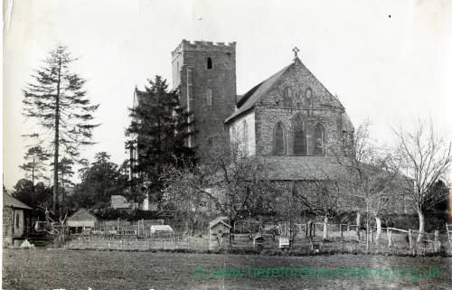 Dore Abbey - Exterior from South East
