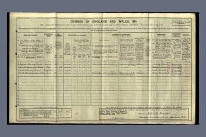 1911 Census - 23 Kitson Road, Barnes