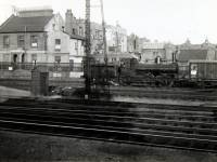 LSWR train, Wimbledon Station