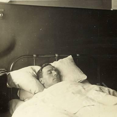 Patient Sleeping in Ward Z8
