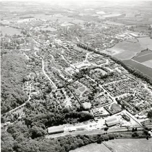 Li13837 Ledbury Aerial View 1986 Aerofilms 502609.jpg