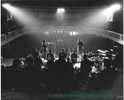 206 - Miles Davis band playing at concert