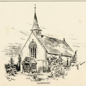 Aconbury, Church of St John the Baptist