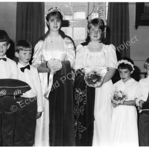 Wortley Road Methodist Chapel High Green Harvest Queen c1984