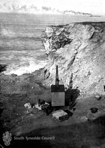 Quarrying at Trow Rocks