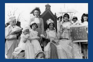 Mitcham's Merry Queen Mary England - May  Queen