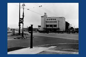 Shannon Corner, No.55, Odeon Cinema entrance, West Barnes