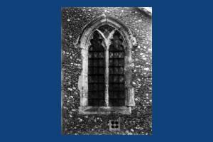 Window at St Mary's Church, Merton