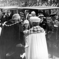 King George V and Queen Mary's visit, Bootle May Day, 1927