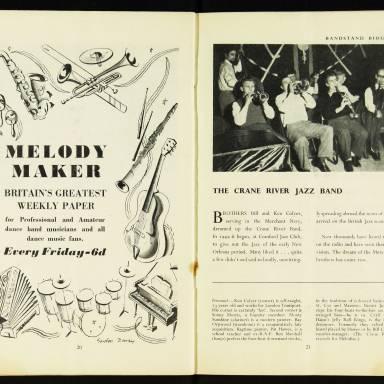 National Federation of Jazz Organisations, Royal Festival Hall - 1955 012