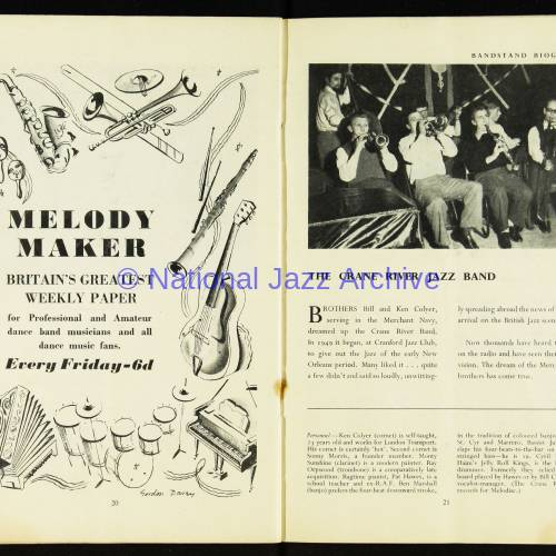 National Federation of Jazz Organisations, Royal Festival Hall - 1951 012 - National  Jazz Archive