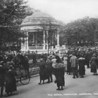Southport, bandstand, Municipal gardens