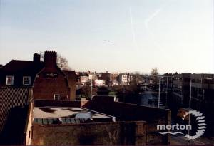 Fair Green, Mitcham: seen from the rooftops