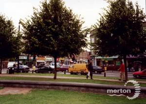 Fair Green, Mitcham: junction with London Road
