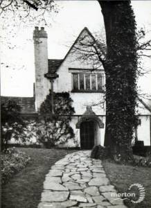 Home of Ethel Mannin, Burghley Road, Wimbledon