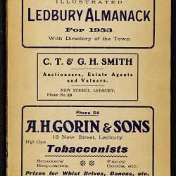 Tilley's Ledbury Almanack 1953