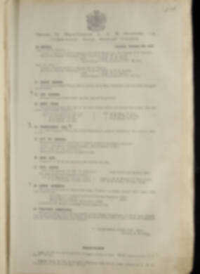 Routine Orders - June 1917 - June 1918 - Page 247