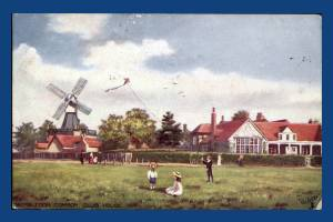 Windmill and Golf Club House, Wimbledon Common