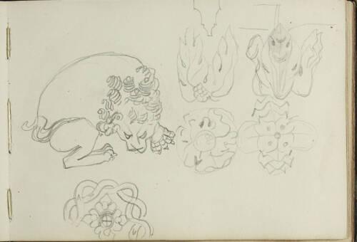 Page 45 of sketchbook 2