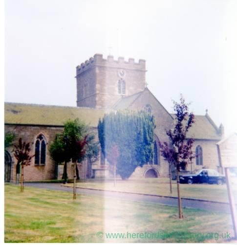 St Peters Church, Bromyard, 1983