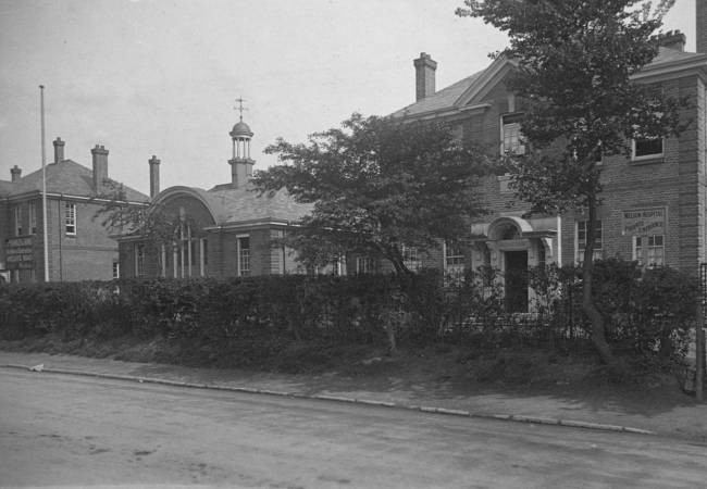 Nelson Hospital, Kingston Road, Merton Park