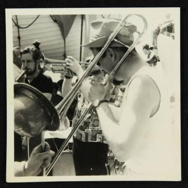 Trombonist at Floating Fest
