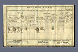 F Lambert 1911 census Pincott Road
