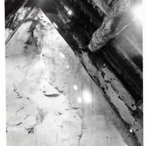Great Turnant, Llanveynoe, attic, 1973/4
