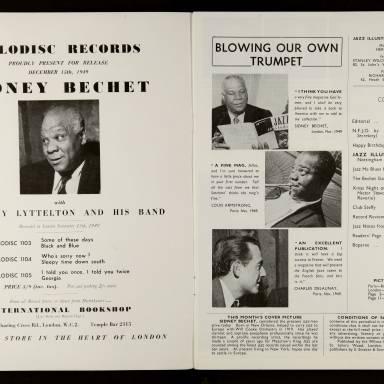 Jazz Illustrated Vol.1 No.2 December 1949 0002