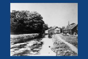 Littler's Print Works next to the River Wandle